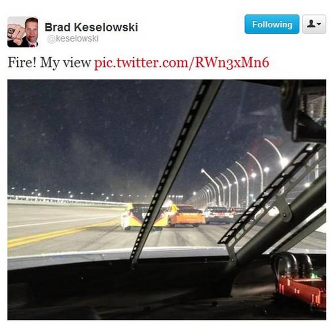 Keselowski tweet Daytona 500