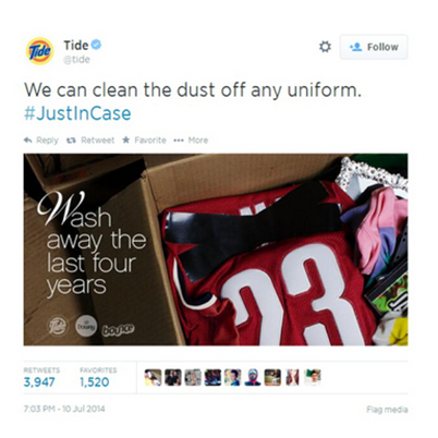 Tide Lebron tweet
