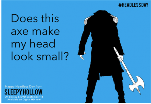ecard from #HEADLESSDAY campaign
