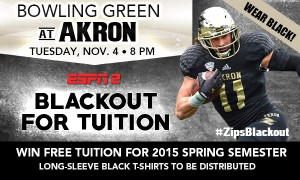 Akron - BlackoutforTuition