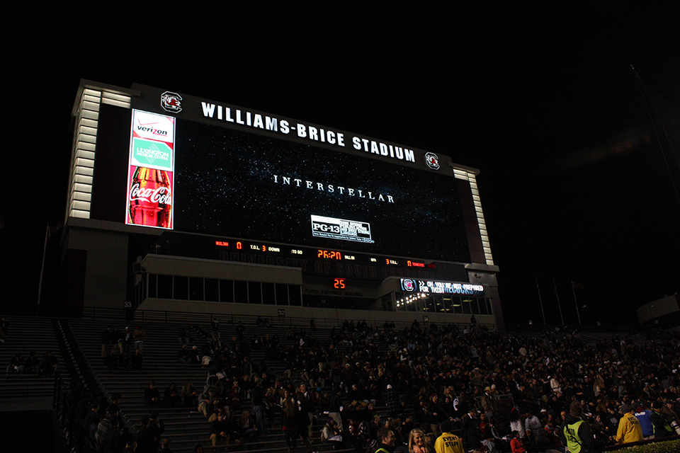 interstellar USC video board