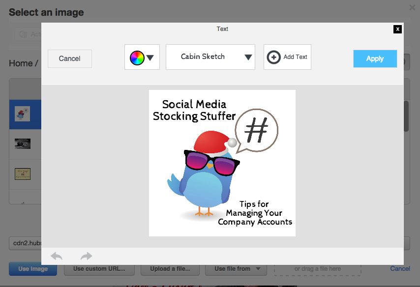 hubspot social tool picture