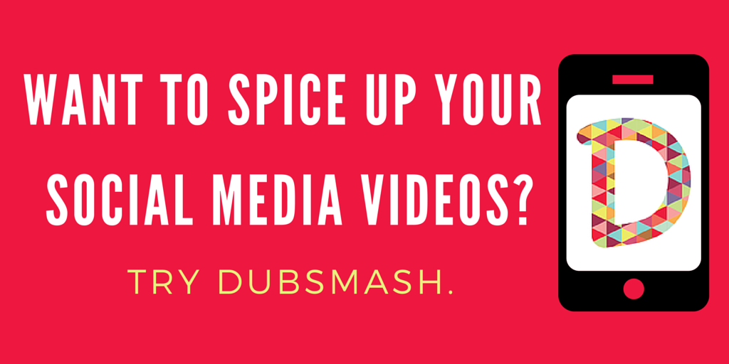 Want to spice up your social media videos? Try Dubsmash.