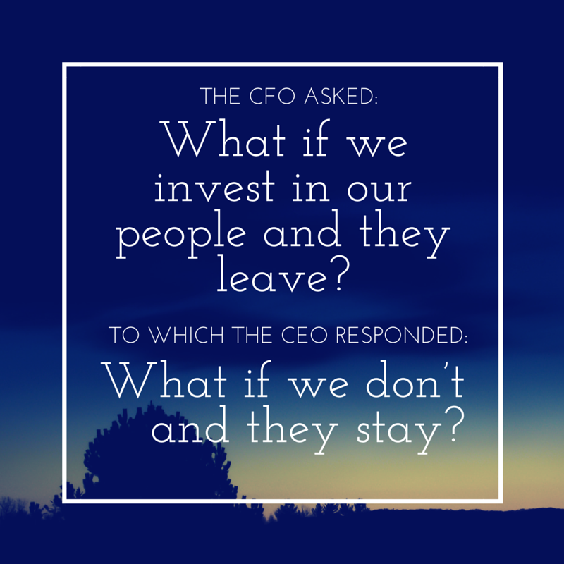 The CFO asked- What if we invest in our