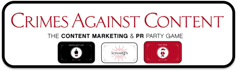 [Free Download] Crimes Against Content: The content marketing & PR party game