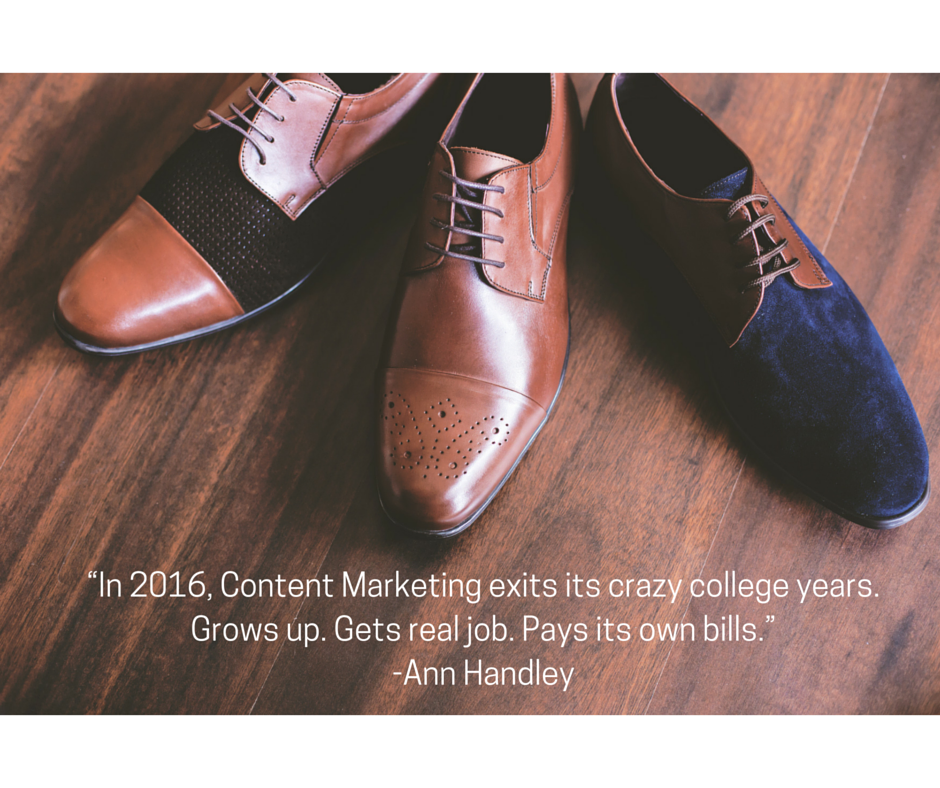 8 imminent content marketing trends you can't ignore in 2016