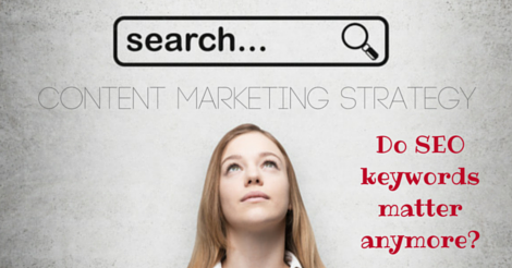 Content Marketing Strategy: Do SEO keywords matter anymore?