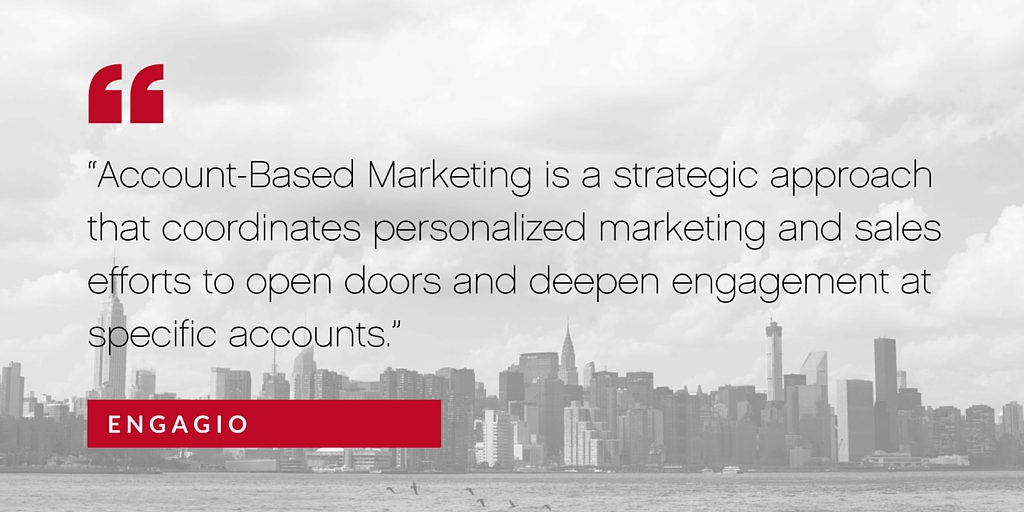 Taking B2B by storm: An intro to account-based marketing