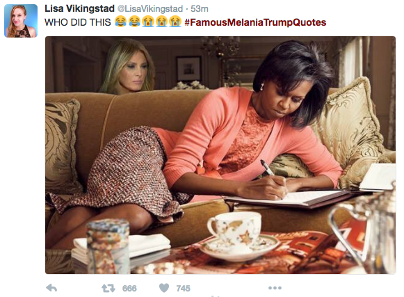 #FamousMelaniaTrumpQuotes: How to avoid plagiarism in your marketing