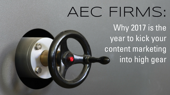 Why 2017 is the year to kick your content into high gear