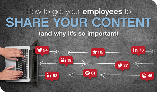 How to get your employees to share your content