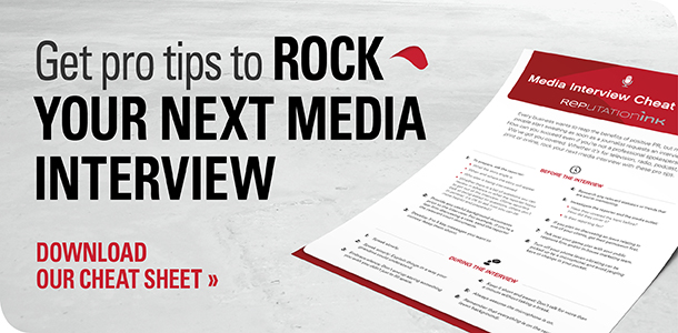 Rep Ink's Media Interview Cheat Sheet