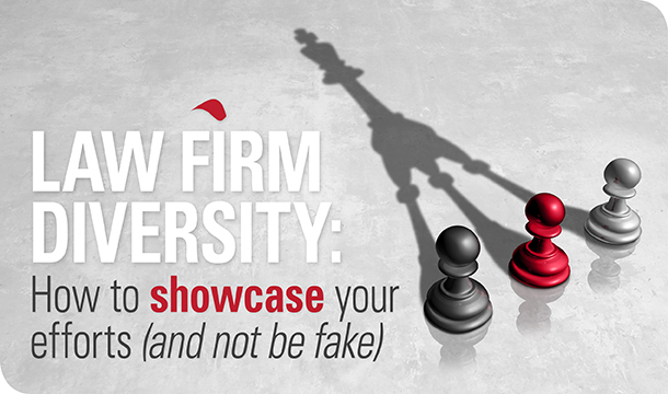 How to showcase your law firm diversity (and not be fake)