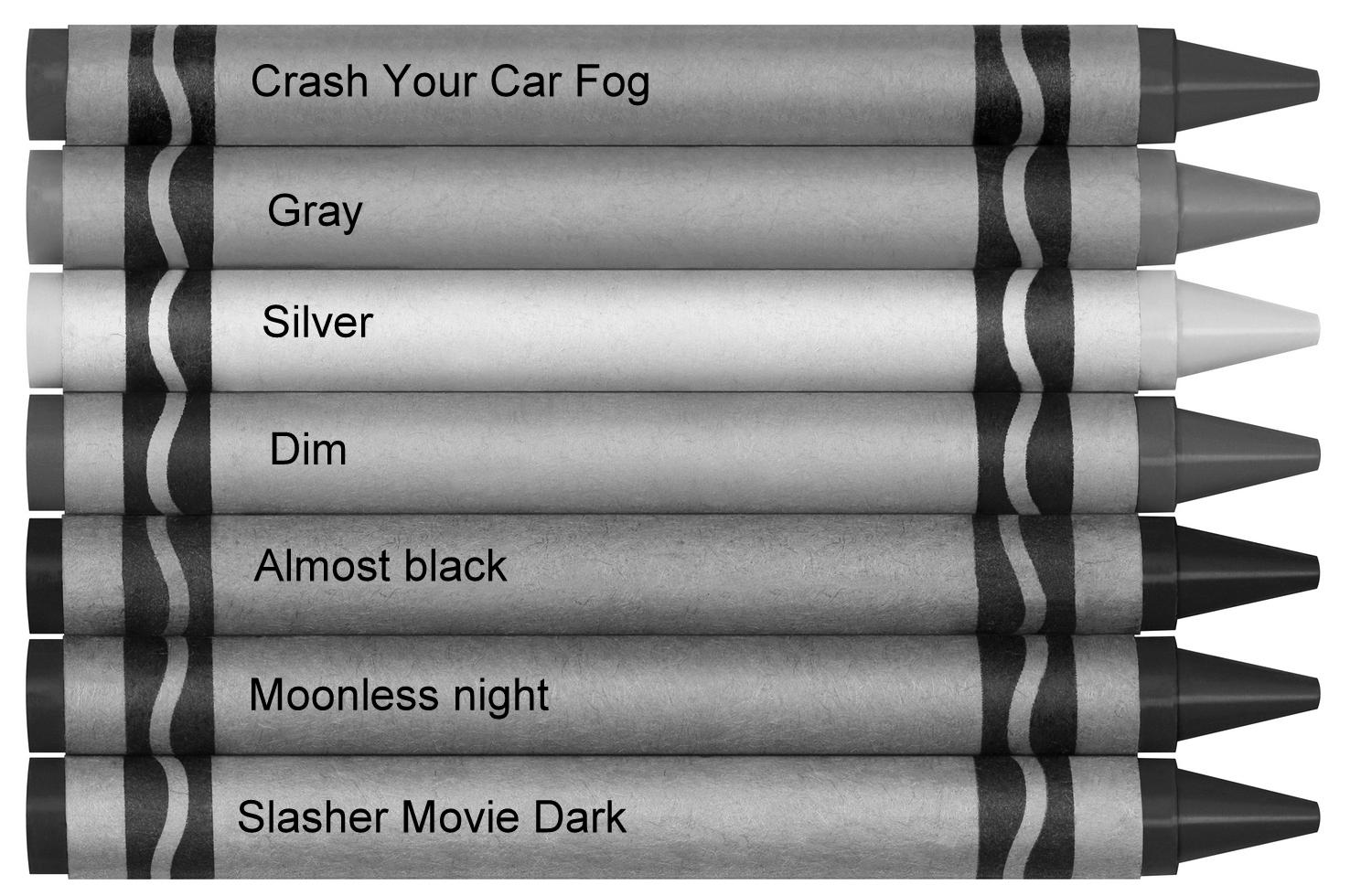 50 shades of boring