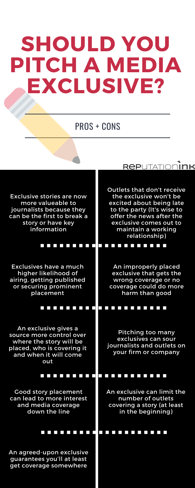 Media exclusives: how and when to use them